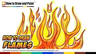 How to Draw Flames - Graffiti Fire Drawing Lesson - Art for Kids MAT(How to Draw Flames. Art for Kids How o Draw a Flame - Graffiti Fire Drawing Lesson by Michael Thoenes. In this lesson you will learn to draw the basic curves ..., 2012-05-27T12:46:56.000Z)