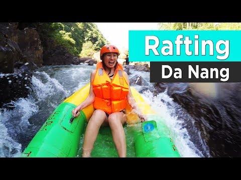 White Water Rafting & Hot Springs Park in Da Nang   Vietnam Travel VLOG 09