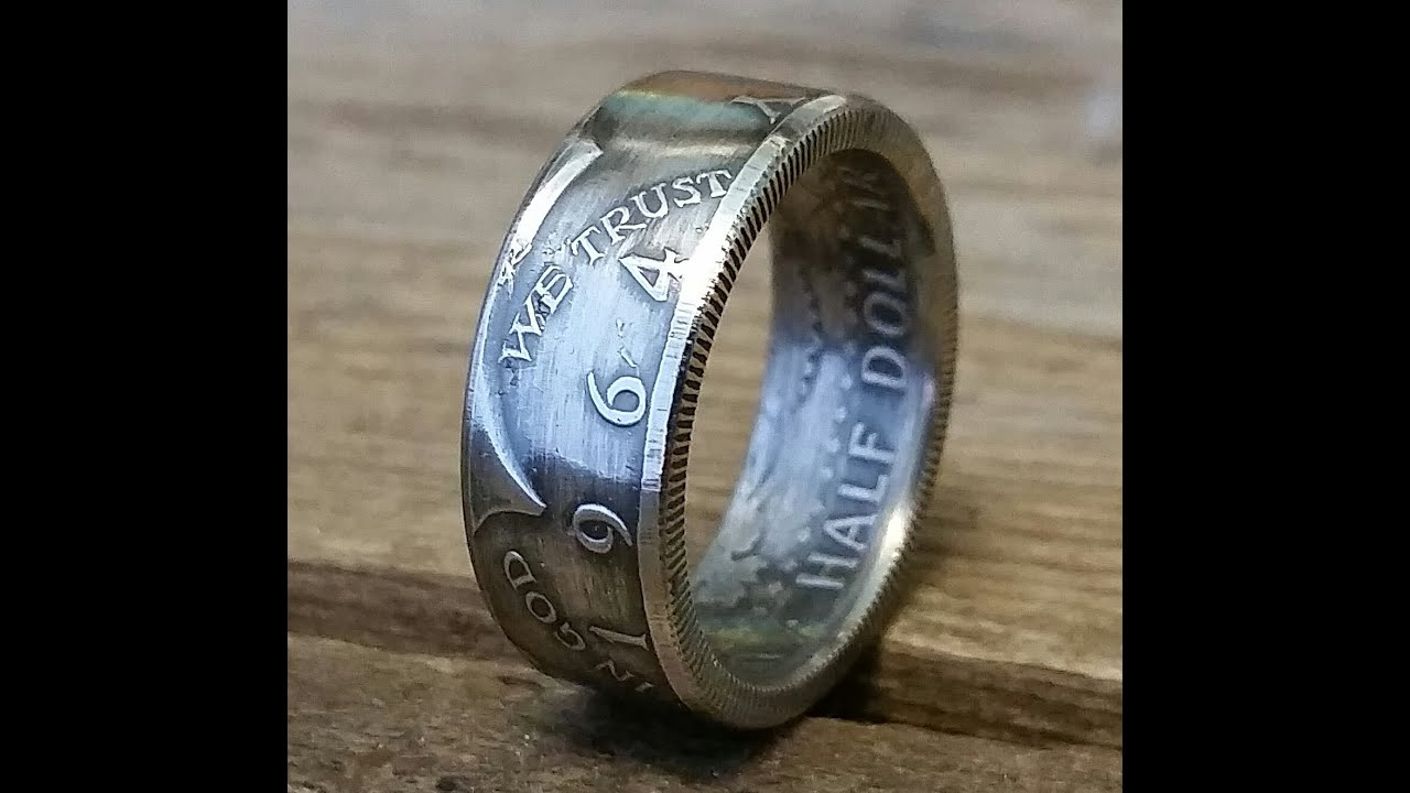 How To Make A Ring Out Of A Silver Coin