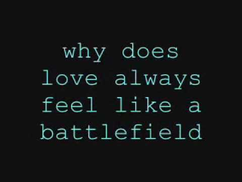 Battlefield - Jordin Sparks Lyrics