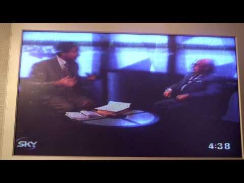 Archive Sky World News   Esmond Selwyn with Ivor Mairants