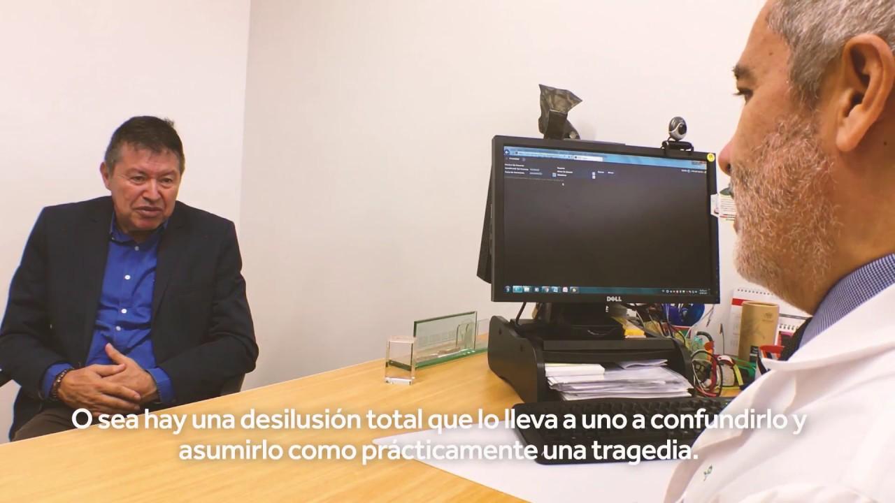 Jorge Alberto Colonia - Paciente de Parkinson