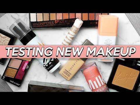 TESTING NEW MAKEUP! Whats Hot and Not!?   Jamie Paige