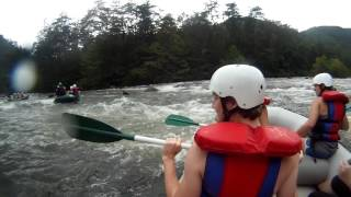 "Ocoee River Whitewater Rafting 6 ""Good Luck Rock"""