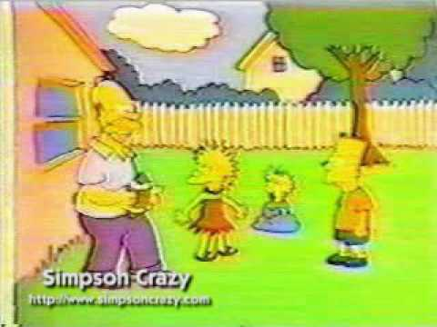 The simpsons short Dinnertime season 1 episode 3