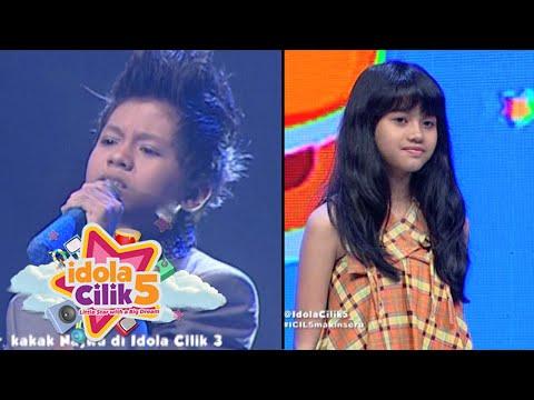 Adik Lintar Idola Cilik 3, Najwa audisi mengikuti sang kakak [Idola Cilik 5] [26 Des 2015]