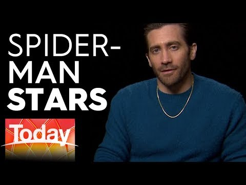 Jake Gyllenhaal and Tom Holland on Spider-Man: Far From Home | Today Show Australia