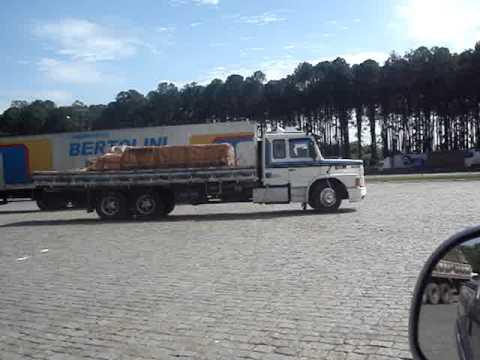 Scania no truck carroceria verdureiro