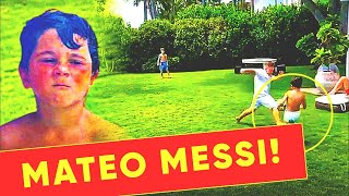 MATEO MESSI SHOCKED THE WORLD WITH HIS FOOTBALL SKILLS! HE WILL BE BETTER THAN DAD?!