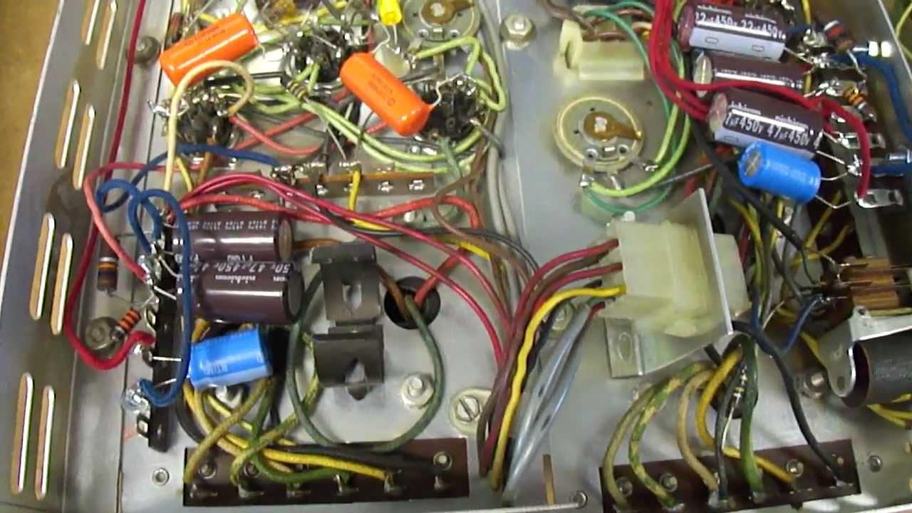 1961 AMI Continental Jukebox repair progress