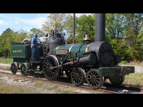 Baltimore & Ohio Railroad Museum Railfest Steamdays 2013