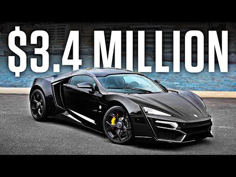 The $3.4 Million Lykan Hypersport