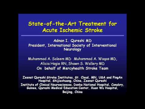 State of the art Treatment of Acute Ischemic Stroke