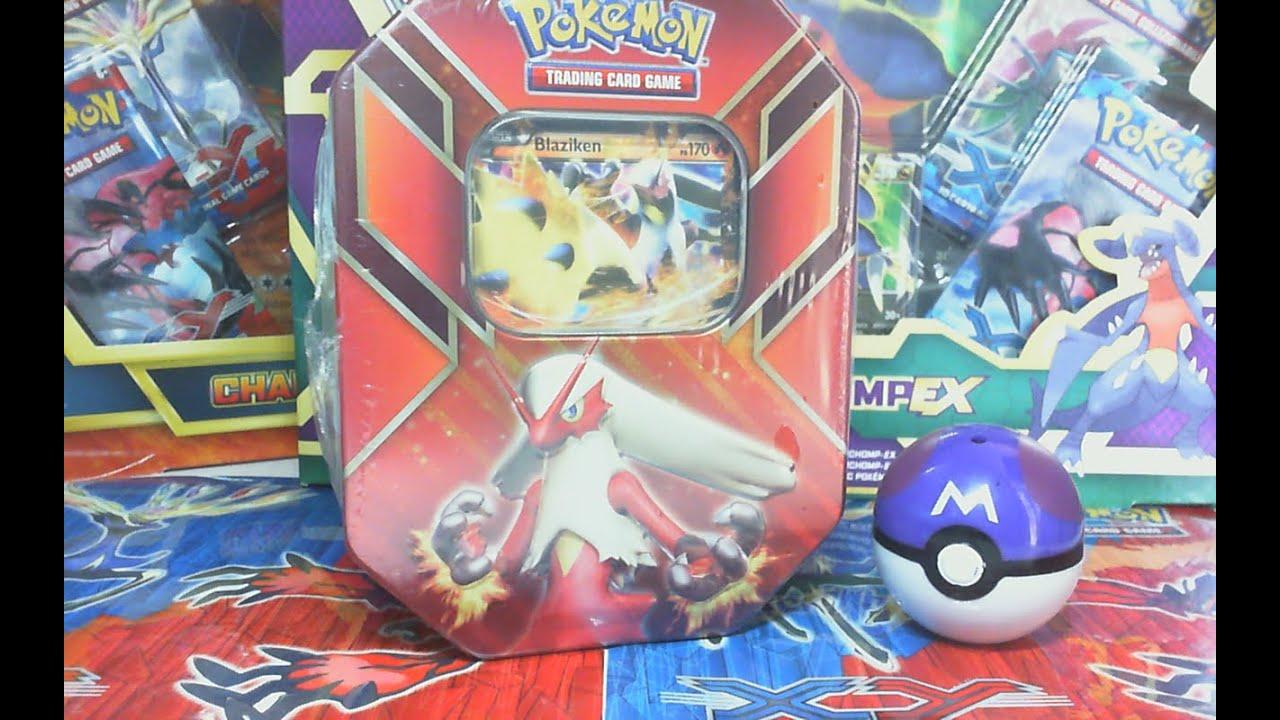 ★APERTURA★ Pokemon Nuovo Tin Potere di Hoenn - Blaziken EX ★