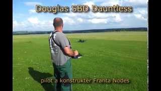RC Scale Douglas SBD Dauntless by Franta Nodes