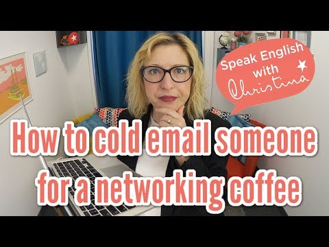 How to Cold Email to Invite Someone for a Networking Coffee [ACTIVATE THE SUBTITLES!]