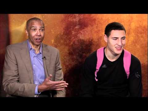 Klay And Mychal Thompson Interview (FS West)