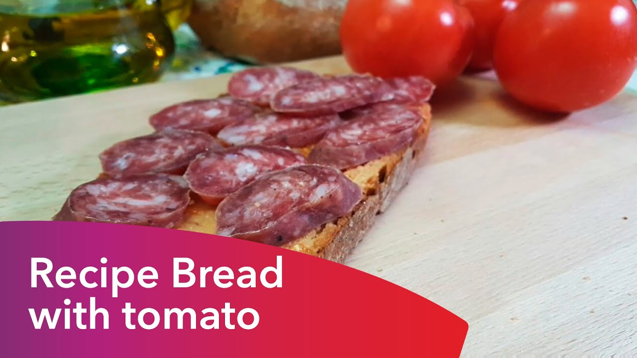 how to make bread with tomato surse and mustid
