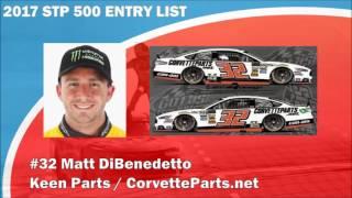 2017 STP 500 Entry List