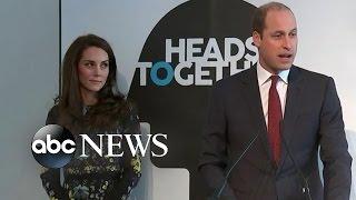 Royals Put Spotlight on Mental Health Issues