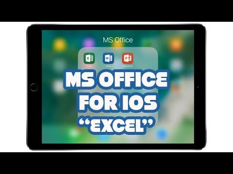 MS Office for iOS | EXCEL | PART 3 thumbnail