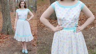 Making an Easter Dress : Sewing Vlog