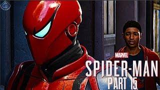 Spider-Man PS4 Walkthrough Part 15 - Miles Meets Spider-Man!