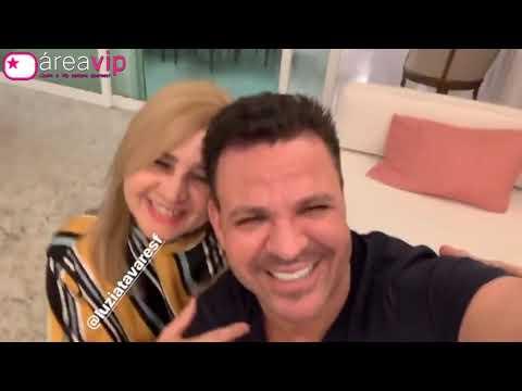 Eduardo Costa apresenta a sogra e faz ela cair na risada com brincadeira - Veja! thumbnail