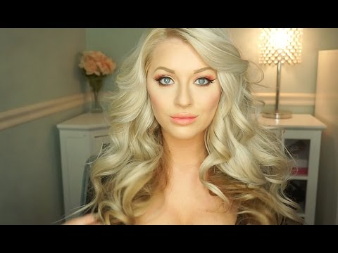 big sexy hair styles big curls hair tutorial bombay gold curling wand 1650 | hqdefault