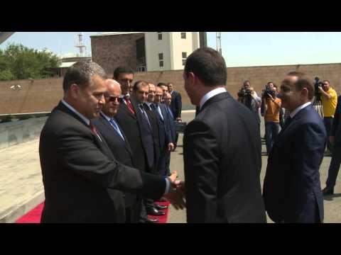 Georgian Prime Minister met solemnly in Yerevan