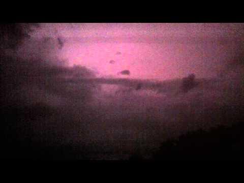 Insane Electrical Storm in Corfu
