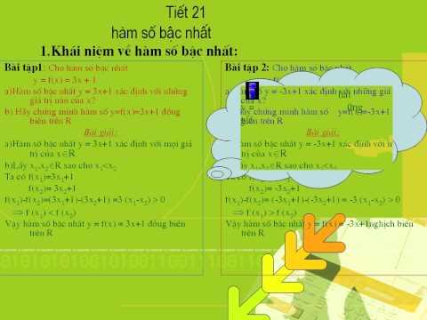 DAI 9 CII   Bai 2 Ham so bac nhat