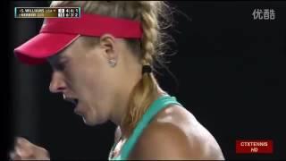 Angelique Kerber VS Serena Williams Highlight 2016 Australian Open Final