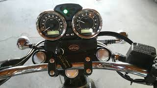 モトグッチ V7 スペシャル ノーマル排気音  MOTOGUZZI V7 special exhaust