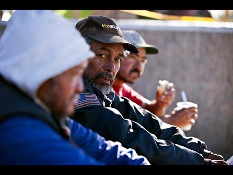 Homeless people in the United States deported to camps