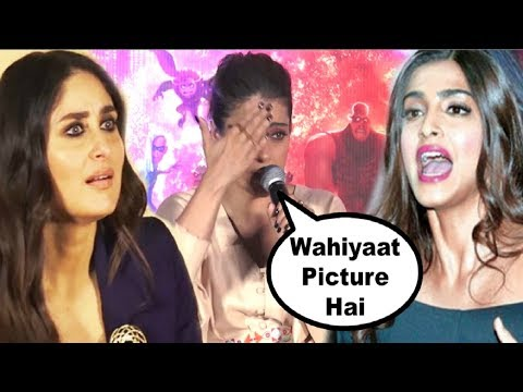 Kajol Nasty REACTION On Veere Di Wedding Movie thumbnail