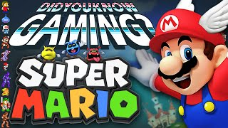 Mario Power-Ups & Dr. Mario - Did You Know Gaming? Feat. Jimmy Whetzel
