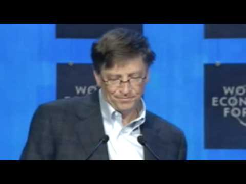 Davos Annual Meeting 2008 - Bill Gates