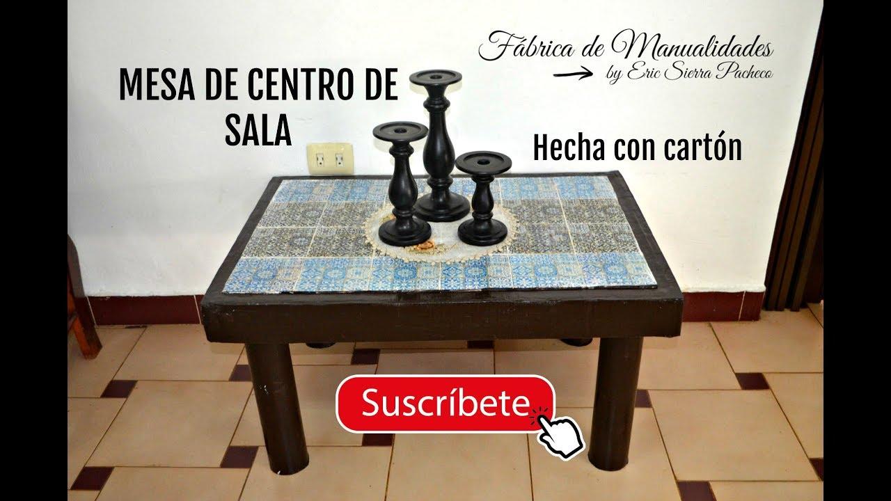 Mesa de centro de sala diy youtube - Mesas de centro de sala ...