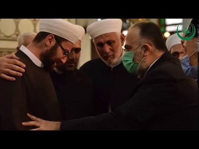 Во всех джумаа-мечетях ЧР прошли молитвы за покойного за Муфтия Дамаска Мухаммада Аднана аль-Афьюни