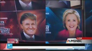 ترامب وكلينتون أكبر الرابحين في