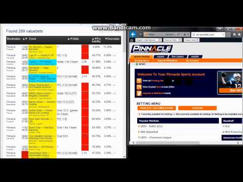 BookMaker Auto Betting at Pinnacle Sports
