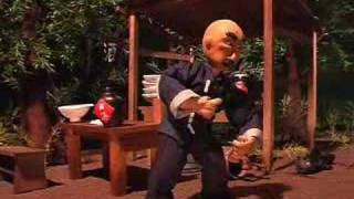 The drunken Kung Fu [animación stop motion]
