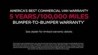 Nissan Warranty - NV200 COMPACT CARGO Vans - America