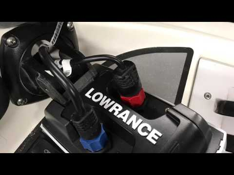 Seadoo X20 Installing Fish Finder And Transducer Using A