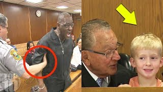 The Most SHOCKING Courtroom Moments Caught On Camera!