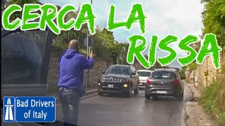 BAD DRIVERS OF ITALY dashcam compilation 06.26