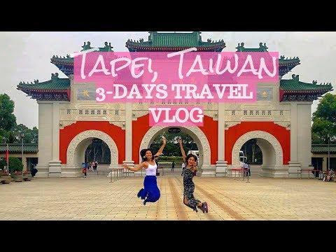 3 Days Travel Vlog: Taipei, Taiwan