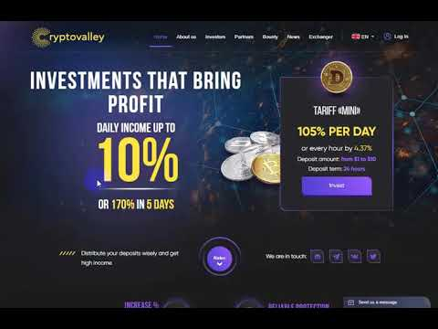 The best site to earn money (crypto valley)