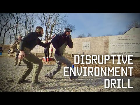 Training For Combat: Disruptive Environment Drill | Navy SEAL \u0026 Israeli Special Forces | TR
